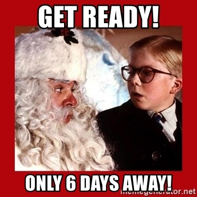 A christmas story - Get ready! Only 6 days away!