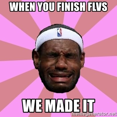 LeBron James - When you finish flvs We made it
