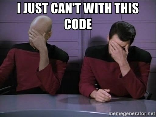 Picard-Riker Tag team - i just can't with this code