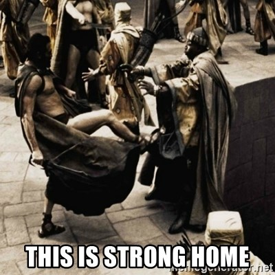 sparta kick - This is Strong Home