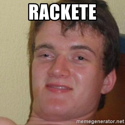 really high guy - rackete