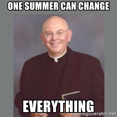 The Non-Molesting Priest - one summer can change everything