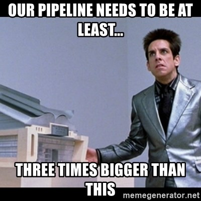 Zoolander for Ants - Our Pipeline needs to be at least... three times bigger than this