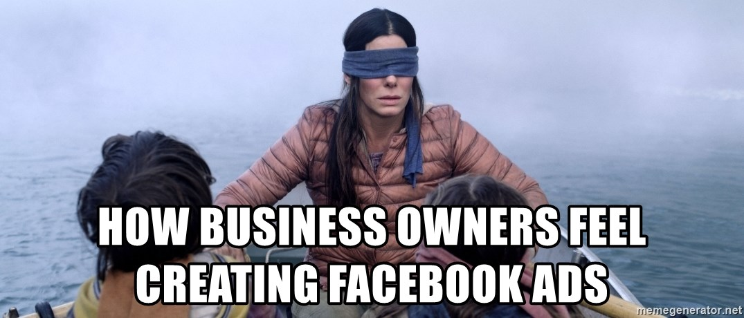 Bama ref birdbox - how business owners feel creating facebook ads