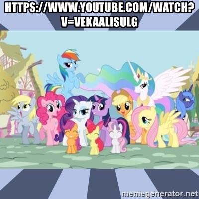 MLP - https://www.youtube.com/watch?v=VEKaALIsUlg