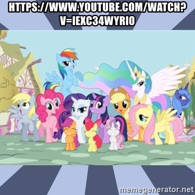 MLP - https://www.youtube.com/watch?v=IEXc34wYri0