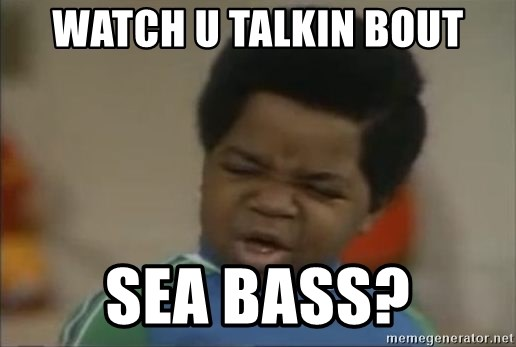 Gary Coleman II - Watch u talkin bout Sea bass?