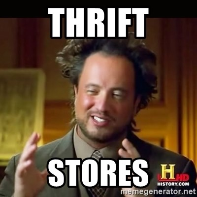 History guy - Thrift Stores