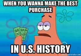 Thomas Jefferson Negotiating The Louisiana Purchase With France  - when you wanna make the best purchase In u.s. history