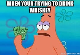 Thomas Jefferson Negotiating The Louisiana Purchase With France  - when your trying to drink whiskey