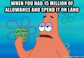 Thomas Jefferson Negotiating The Louisiana Purchase With France  - When you had 15 million of allowance and spend it on land