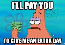Thomas Jefferson Negotiating The Louisiana Purchase With France  - I'll pay you To give me an extra day