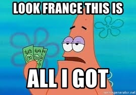Thomas Jefferson Negotiating The Louisiana Purchase With France  - look France this is all I got