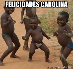 african children dancing - FELICIDADES CAROLINA