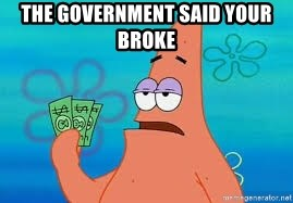 Thomas Jefferson Negotiating The Louisiana Purchase With France  - the government said your broke