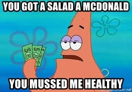 Thomas Jefferson Negotiating The Louisiana Purchase With France  - you got a salad a McDonald You mussed me healthy