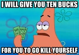 Thomas Jefferson Negotiating The Louisiana Purchase With France  - I Will give you ten bucks  For you to go kill yourself