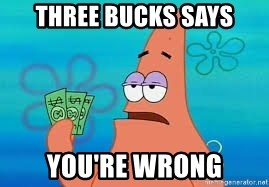 Thomas Jefferson Negotiating The Louisiana Purchase With France  - Three Bucks says You're wrong
