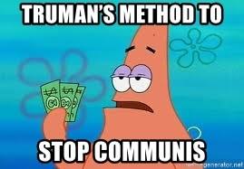 Thomas Jefferson Negotiating The Louisiana Purchase With France  - truman's method to  stop communis