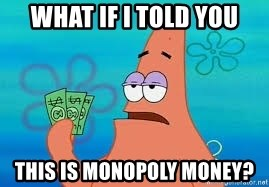Thomas Jefferson Negotiating The Louisiana Purchase With France  - What if I told you this is Monopoly money?