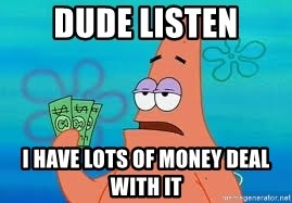 Thomas Jefferson Negotiating The Louisiana Purchase With France  - dude listen i have lots of money deal with it