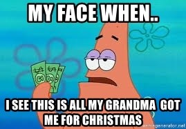 Thomas Jefferson Negotiating The Louisiana Purchase With France  - My face when.. I see this is all my grandma  got me for Christmas