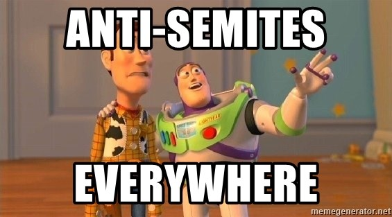 Consequences Toy Story - Anti-semites Everywhere