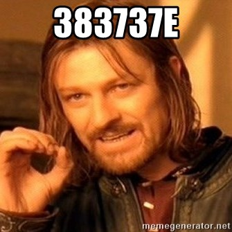 One Does Not Simply - 383737e