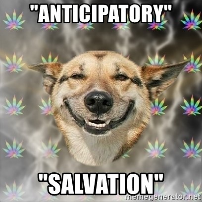 "Stoner Dog - ""Anticipatory"" ""Salvation"""