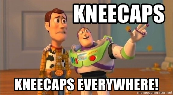 Consequences Toy Story - kneecaps kneecaps everywhere!