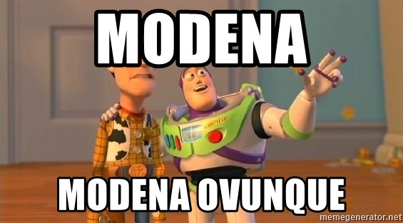 Consequences Toy Story - MODENA MODENA OVUNQUE