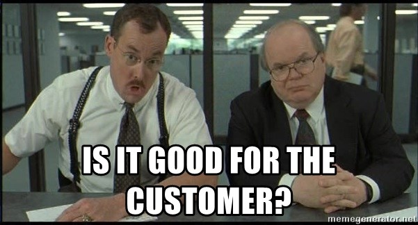Office space - Is it good for the customer?