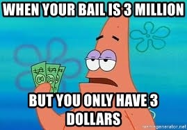 Thomas Jefferson Negotiating The Louisiana Purchase With France  - WHEN YOUR BAIL IS 3 MILLION BUT YOU ONLY HAVE 3 DOLLARS