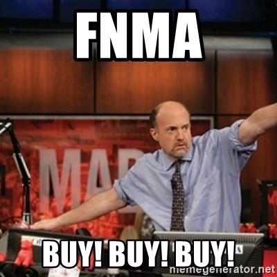 Jim Kramer Mad Money Karma - FNMA BUY! BUY! BUY!