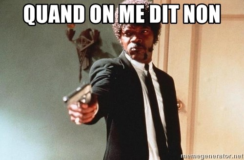 I double dare you - Quand on me dit non