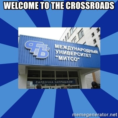 Tipichnuy-MU-Mitso - WELCOME TO THE CROSSROADS