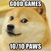 dogeee - Good games 10/10 paws