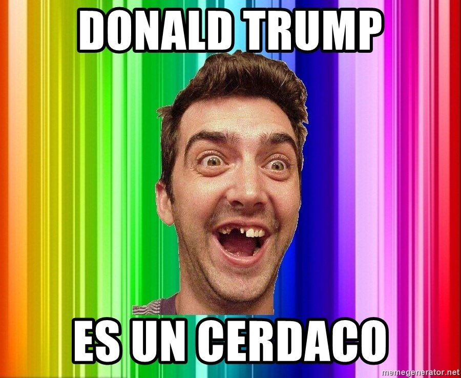 Empanadillo - donald trump es un cerdaco
