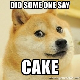 Dogeeeee - did some one say cake