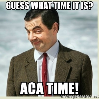 MR bean - Guess What Time It Is? ACA Time!