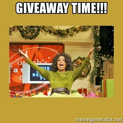 Oprah You get a - Giveaway Time!!!
