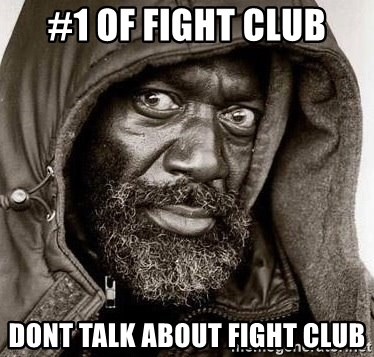 You Gonna Get Raped - #1 OF FIGHT CLUB DOnt Talk About FIght CLub