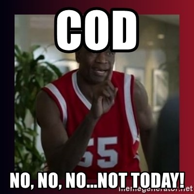 Dikembe Mutombo - COD No, No, No...Not Today!