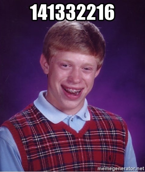 Bad Luck Brian - 141332216