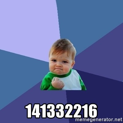 Success Kid - 141332216