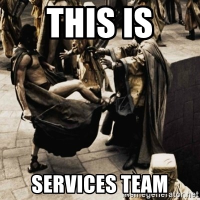 sparta kick - This is SERVICES Team
