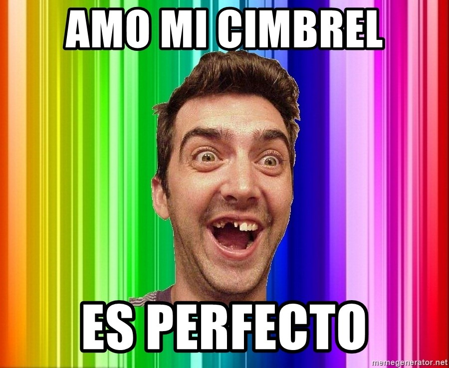 Empanadillo - AMO MI CIMBREL ES PERFECTO