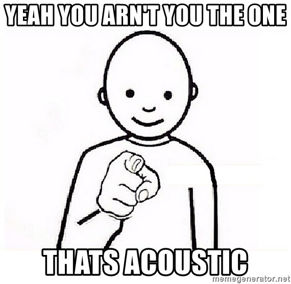 GUESS WHO YOU - yeah you arn't you the one thats acoustic