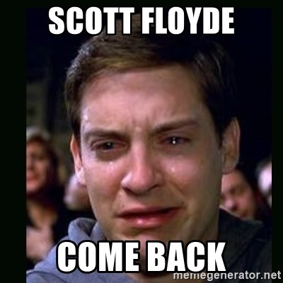crying peter parker - Scott floyde Come back