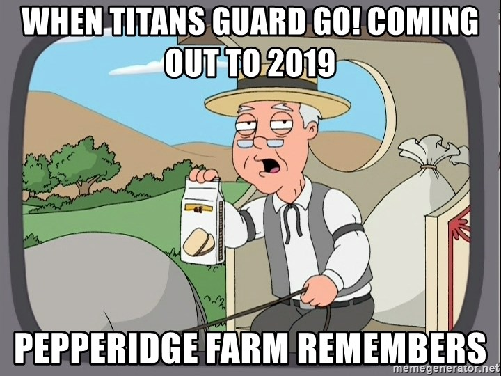 Family Guy Pepperidge Farm - When Titans Guard GO! Coming Out to 2019 Pepperidge Farm Remembers